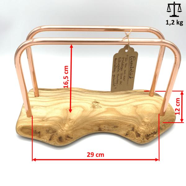 Abmessungen und Gewicht Einzelstueck No4